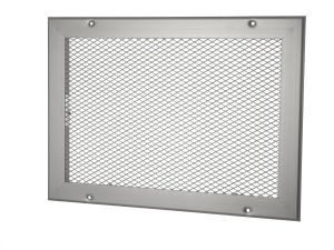VENTILATION GRILLES WITH A COVERING MESH AL/ST-STS