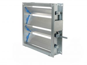 Type PWIIS multi-blade air dampers
