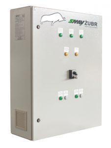 Zasilacz do systemów kontroli rozprzestrzeniania dymu i ciepła typu ZUP SMAY ŻUBR