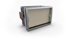 Smoke control damper KWP-P-E
