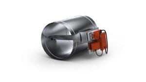 Okrągły regulator ciśnienia VAV RPP-R
