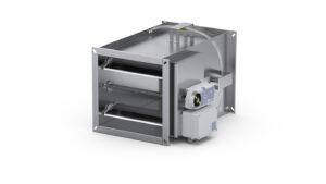 Prostokątny regulator zmiennego przepływu VAV dla systemów SmayLab RVP-P-SL