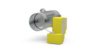 Okrągły regulator zmiennego przepływu VAV w wykonaniu przeciwwybuchowym RVP-R-EX