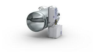Okrągły regulator zm. przepływu VAV dla systemów SmayLab RVP-R-SL
