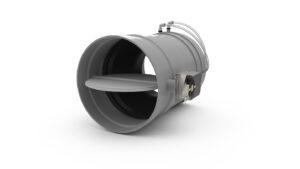Okrągły regulator zmiennego przepływu VAV z tworzywa sztucznego VAV RVT-R