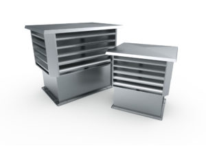 WPD / CPD type B – Roof exhaust hoods and intake vents