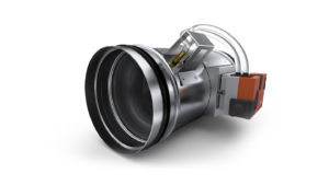 Circular variable air flow regulators designed for low air velocities RVL-R